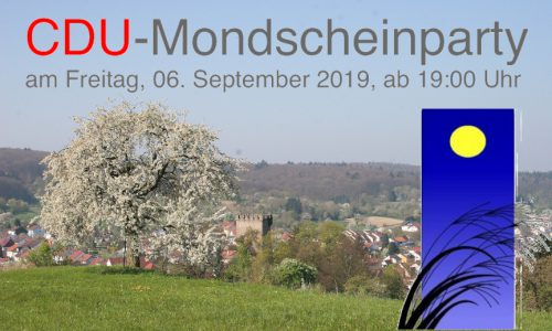 CDU-Mondscheinparty 2019