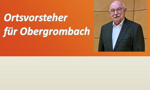 Dr.  Wolfram von Müller von Gemeinderat bestätigt